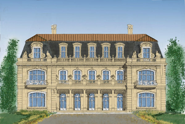 French Manor House Normandy Style 8 500 12 000 SF