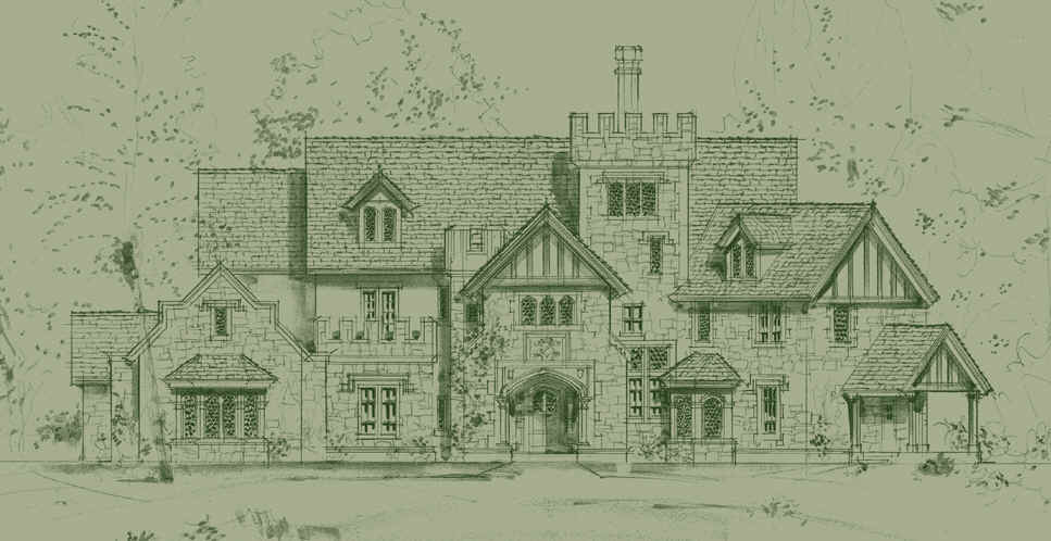 Tudor Mansion House Plans