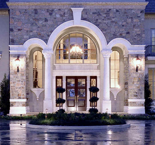 Beautiful Archway Designs For Elegant Interiors: Tuscan Style, 6,800 SF (above